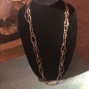 Authentic J.Crew long Goldtone Necklace